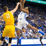 UK bounces back with easy win over Valparaiso