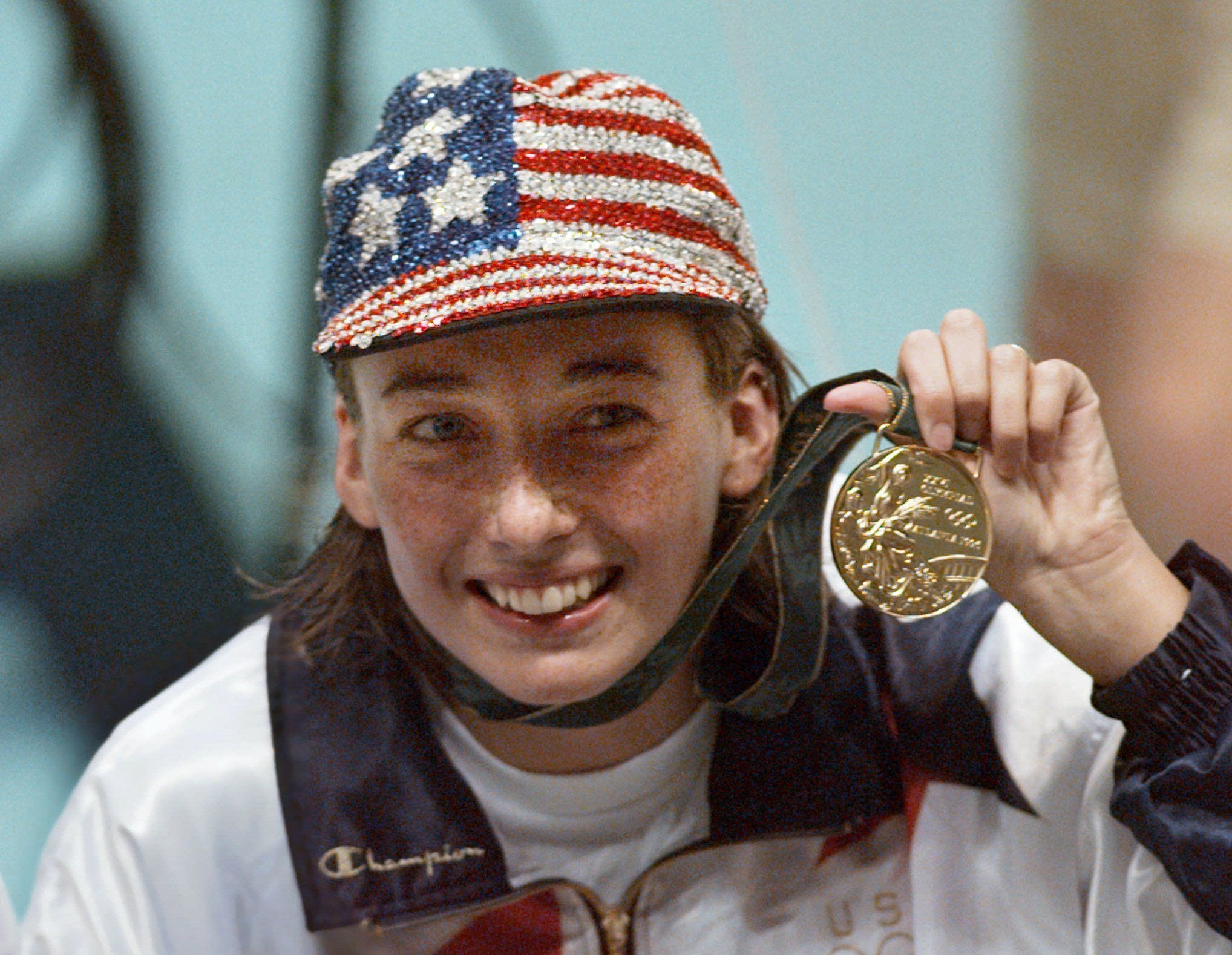 foto Amy Van Dyken 6 Olympic medals