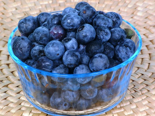 Who can resist a bowl of delicious blueberries?