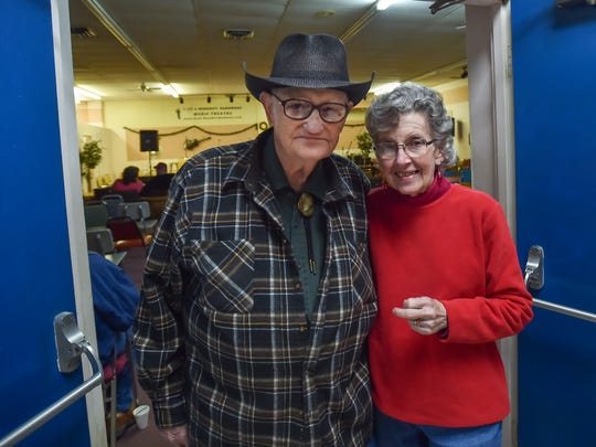 Dick and Della Boschert stand inside Beck and Benedict Hardware store on Friday, Dec, 18, 2015 in Waynesboro, Pa. The Boscherts are owners of Beck and Benedict Hardware store.