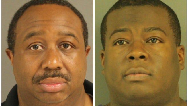 Reginald Butler, left, and Jacob Johnson