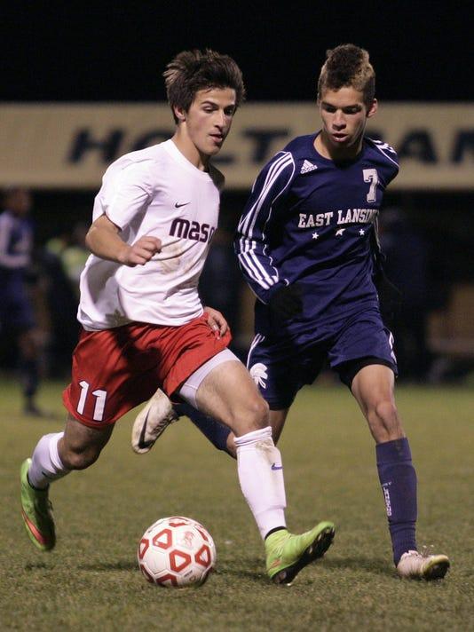 East Lansing vs Mason soccer