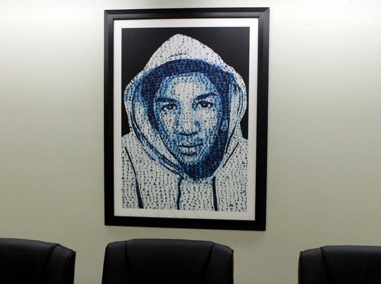 Trayvon Martin photo foundation office