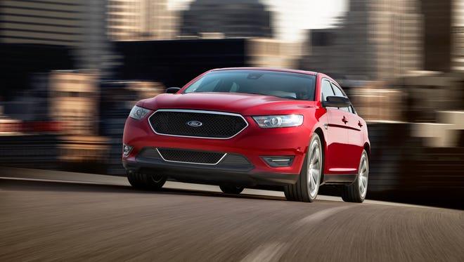 A 2012 Ford Taurus.