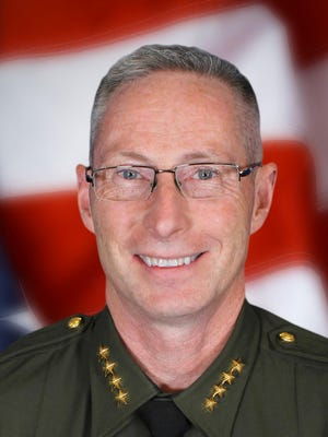 Chuck Allen is Washoe County's sheriff.