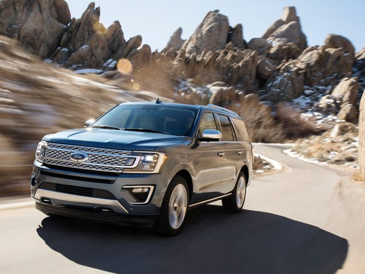 Ford's new Expedition has aluminum body