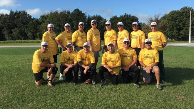The Slug-a-Bug over 60 men's softball team won the Florida Half Century League state title in the B Division.