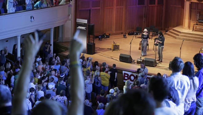 A Song Before We Go closes out Mile of Music 4 Sunday, August 7, 2016 in Appleton, Wisconsin.