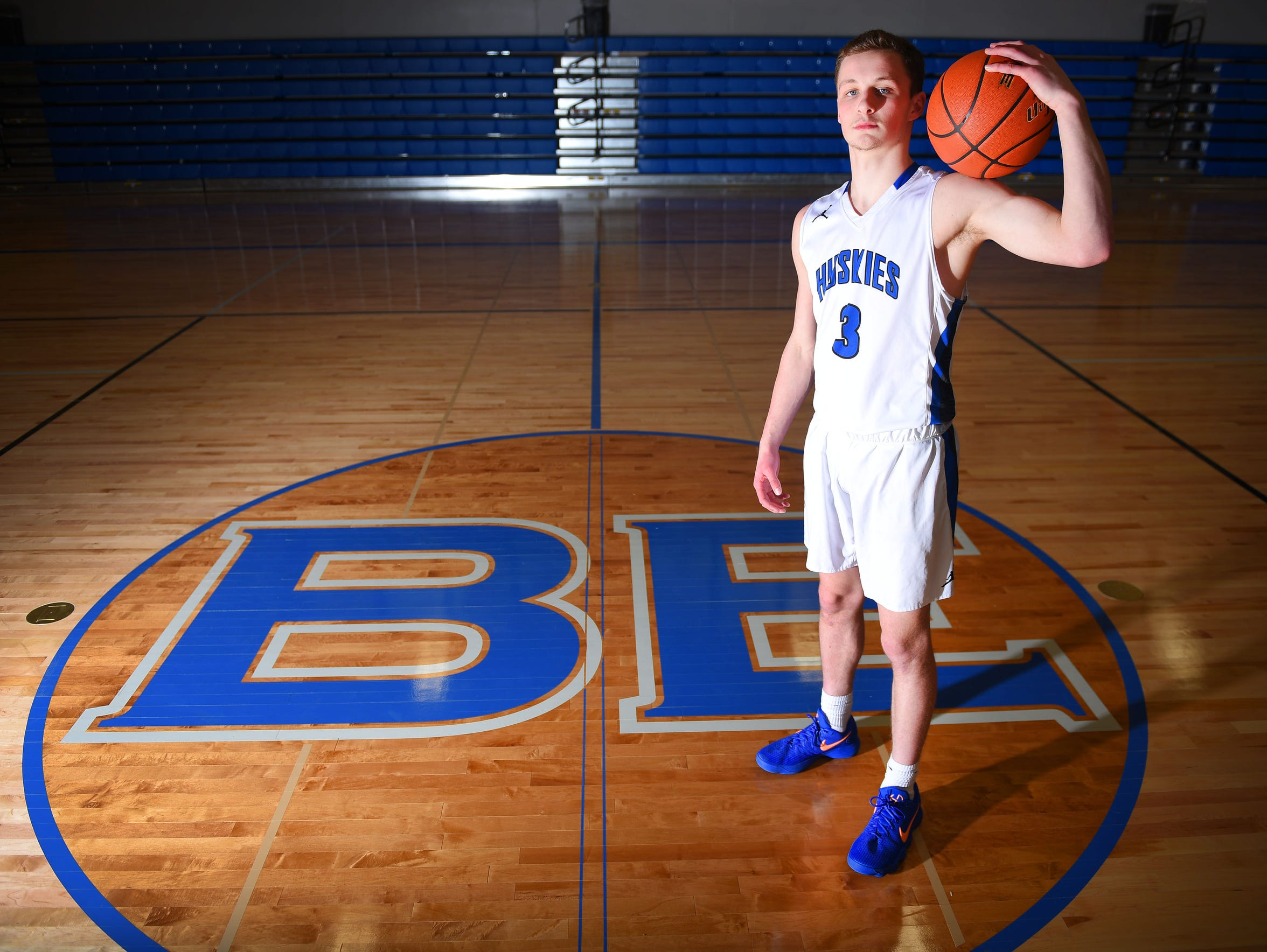 Bridgewater-Emery High School junior Sawyer Schultz,