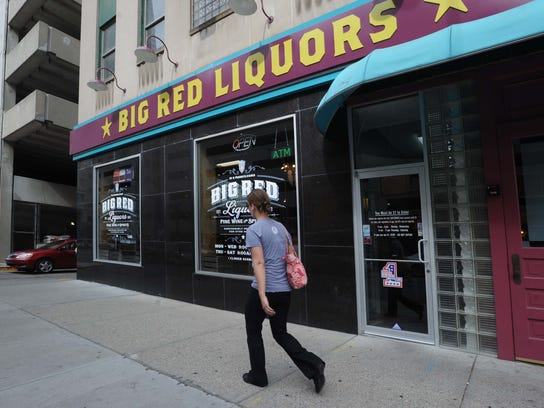Big Red, the largest liquor store chain in Indiana, has a Downtown Indianapolis location.