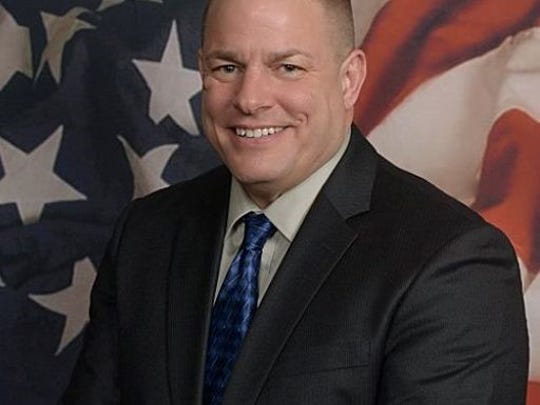 Sgt. Steve Swenson of the South Dakota Highway Patrol. Swenson is a candidate for Lincoln County Sheriff.