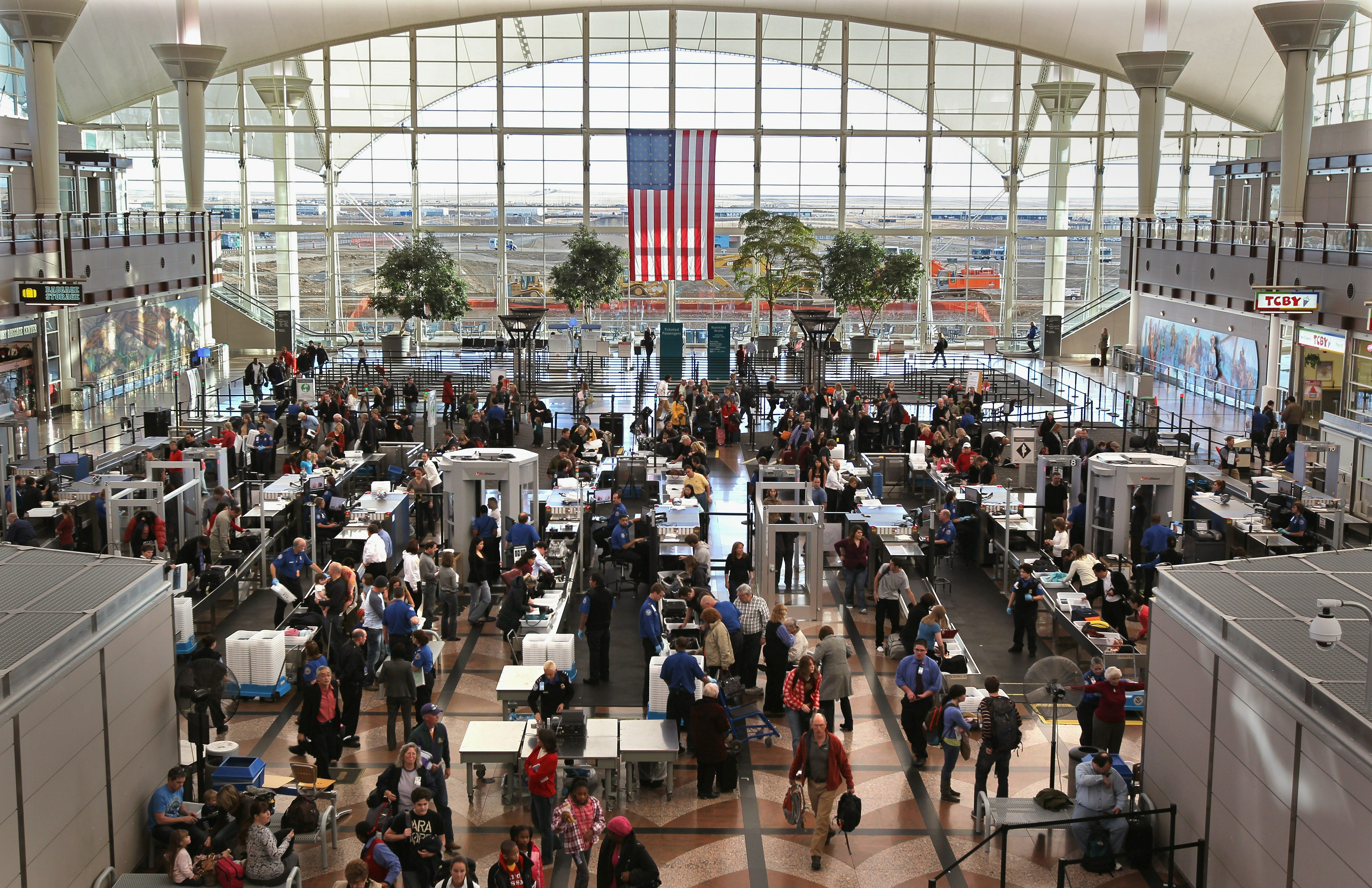 Stories about people who had to live at the airport