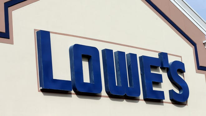 A Lowe's home-improvement store.