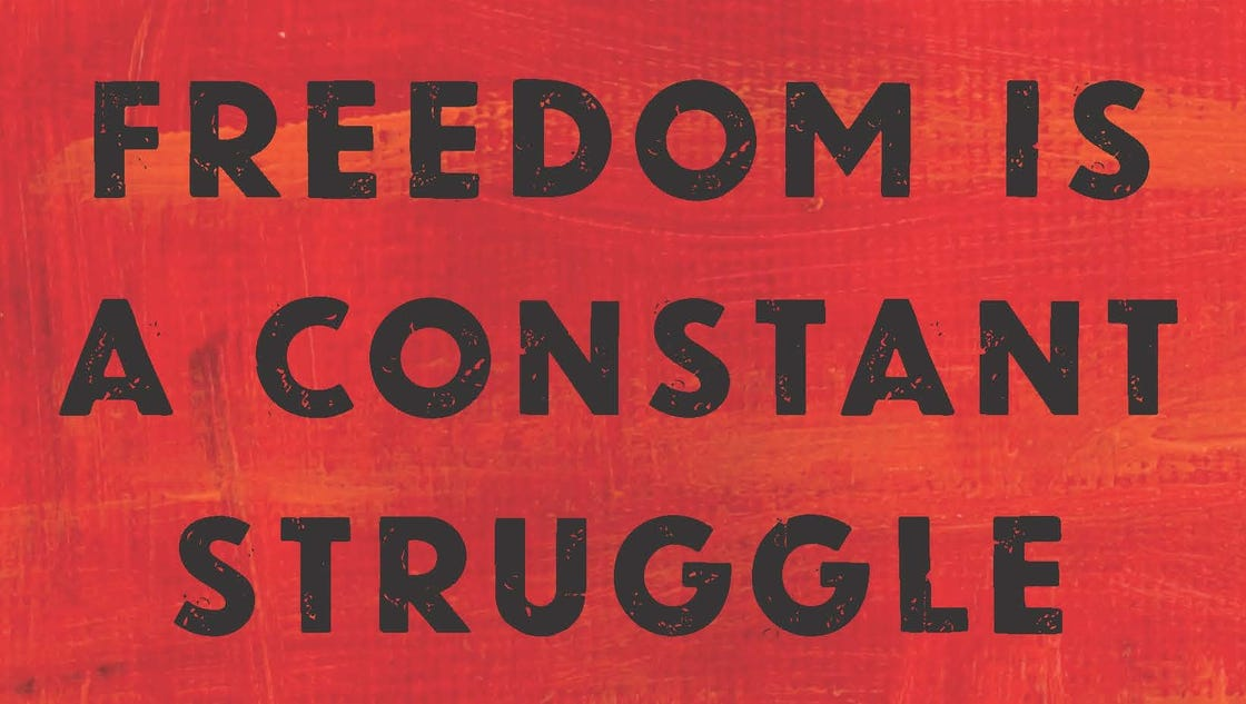 angela davis freedom is a constant struggle pdf
