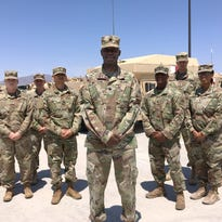 Matthews led support unit to Kuwait, now helping with training at Bliss, NTC