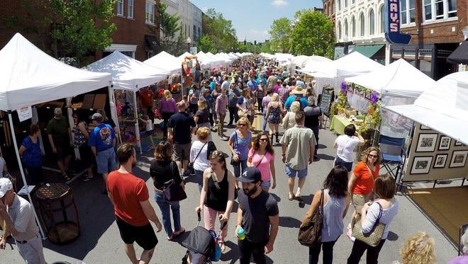 Franklin Main Street Festival returns April 28-29.