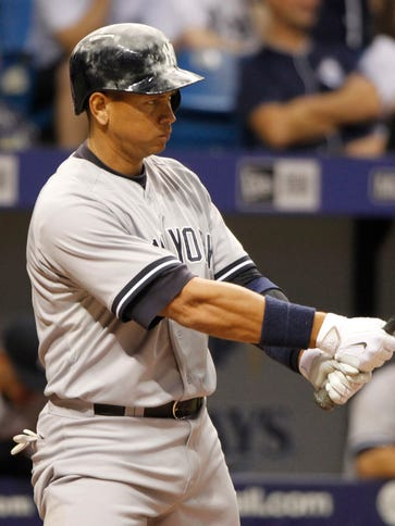 Alex Rodriguez leads the Yankees in virtually every