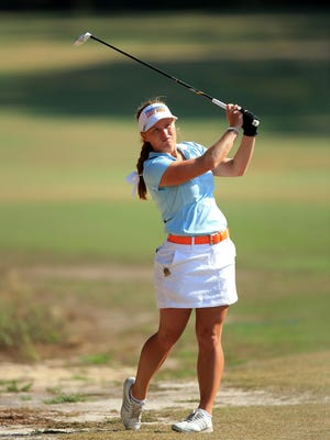 Hannah Pietila, shown at last year's U.S. Women's Open, made it to match play last year in the Women's Amateur.