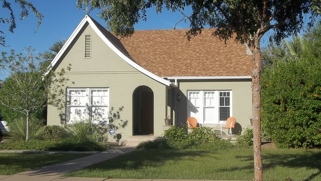 A home built in 1830 in the Historic Coronado District in Phoenix.