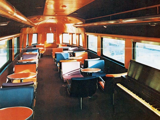 amtrak interiors through the years. Black Bedroom Furniture Sets. Home Design Ideas