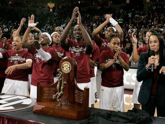 Georgia South Carolina Basketball (2)