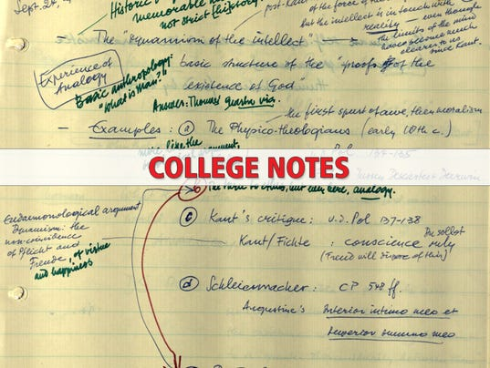 college notes