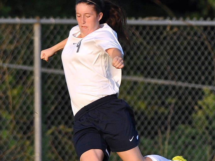 The Dickson County High Lady Cougars opened their season on Aug. 19 with a 3-0 win over Wilson Central. Scoring for DC: Emily Beard, Payton Grove and Payton Crider. Pictured: Paige Sensing.