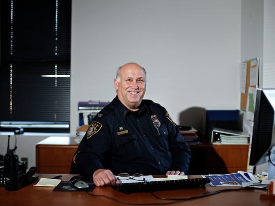 The new chief of police for the city of Republic, Mike