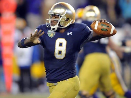 NCAA Football: Music City Bowl-Notre Dame vs Louisiana State