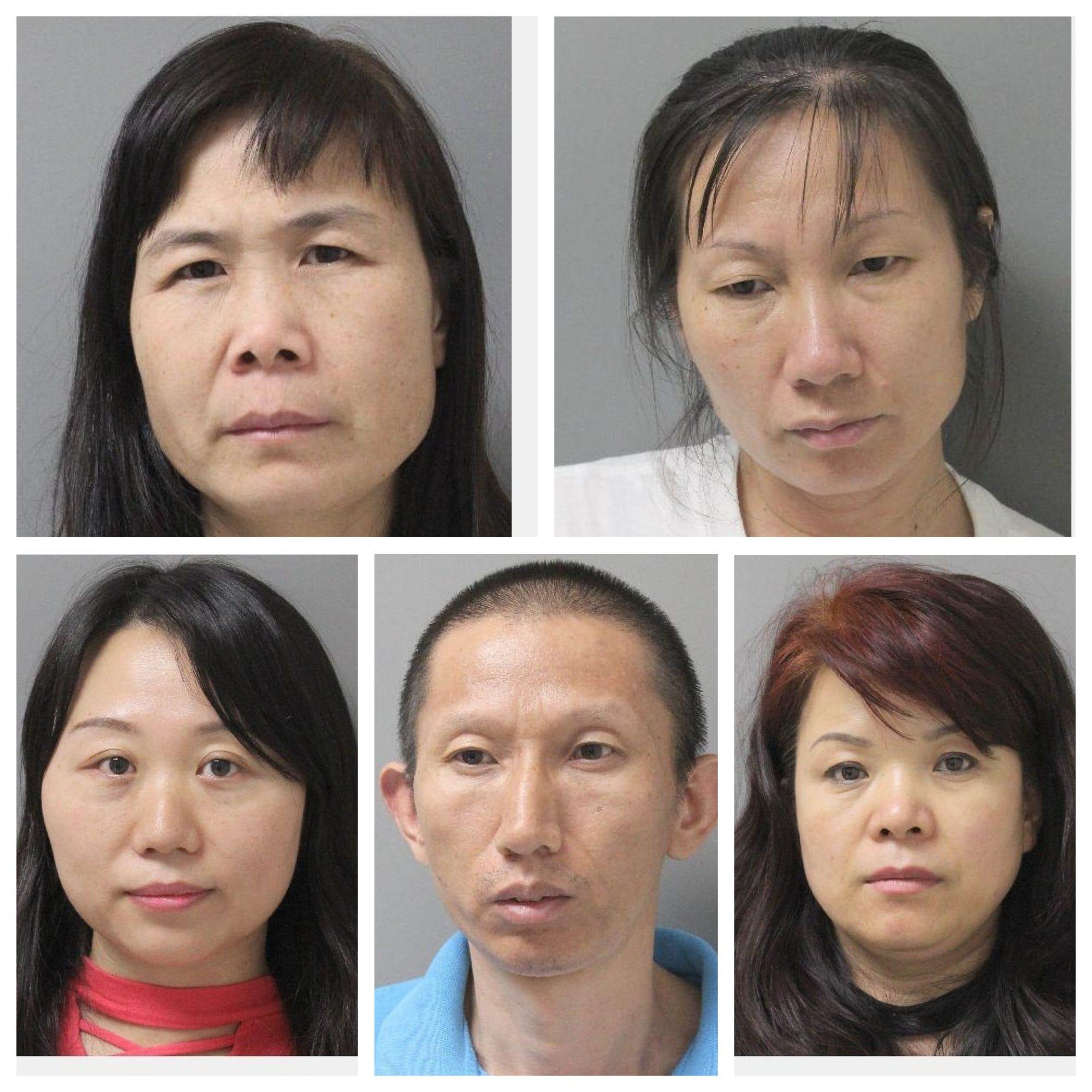 Asian massage parlor find