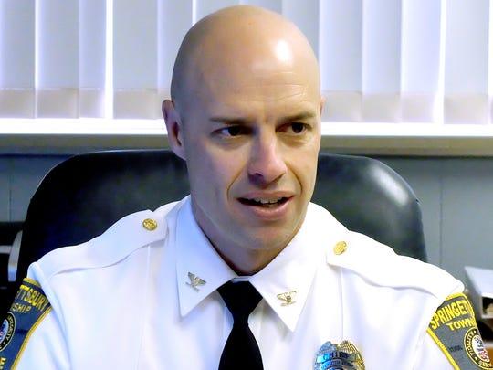 Springettsbury Township Police Chief Dan Stump has