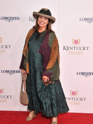 Valerie Harper attends the 139th Kentucky Derby at Churchill Downs on May 4 in Louisville.