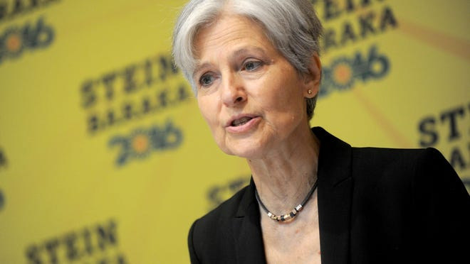 Green Party presidential candidate Jill Stein on Aug. 19, 2016 at the Holiday Inn Lower East Side, in New York City, N.Y. (Dennis Van Tine/Abaca Press/TNS)