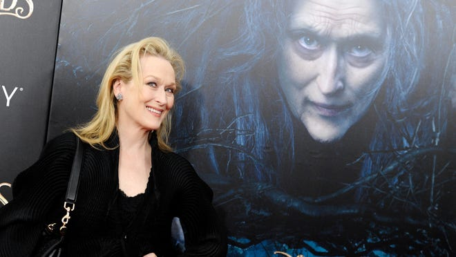 """Actress Meryl Streep is currently starring in """"Into The Woods,"""" but she filmed scenes from an upcoming movie, """"Ricki and the Flash,"""" in Rye in October."""