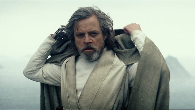 Luke Skywalker (Mark Hamill) revealed himself at the end of 'Star Wars: The Force Awakens' but what will his role be in 'The Last Jedi'?