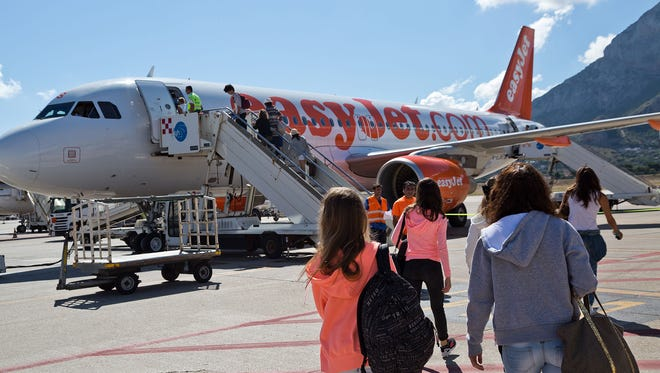 Travelers can hop around Europe quickly and cheaply using discount carriers suh as EasyJet.
