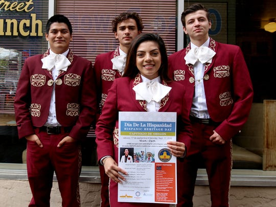 Members of the Woodburn High School Mariachi Band will be performing Saturday, Sept. 17 as part of the Hispanic Heritage Day at the Capitol.