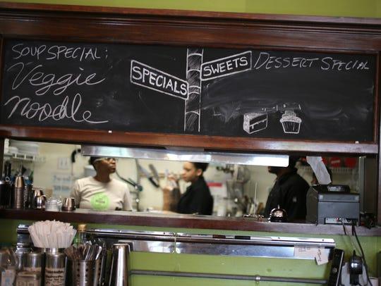 Detroit Vegan Soul in Detroit's West Village district