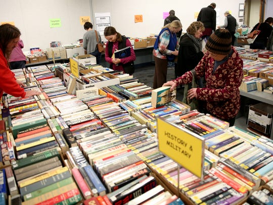 The Friends of the Salem Public Library spring book sale is set for Friday, April 6, through Sunday, April 8.