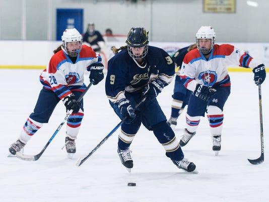 Essex vs. CVU-MMU Girls Hockey 12/13/2017