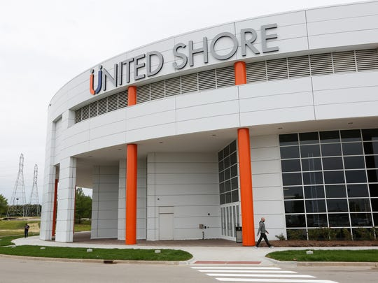 The new headquarters building for United Shore Financial
