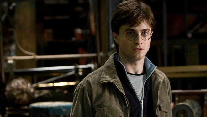 Daniel Radcliffe in the film adaptation of 'Harry Potter and the Deathly Hallows.'