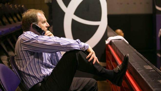 Phoenix Suns owner Robert Sarver has had an initial takeover offer for financially troubled Scottish soccer club Rangers rejected.
