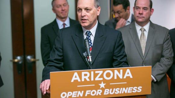 Senate President Andy Biggs discusses a $2 billion