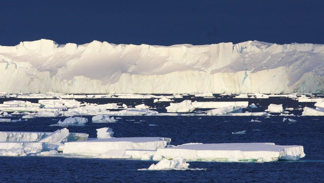The Totten Glacier is the most rapidly thinning glacier in East Antarctica.