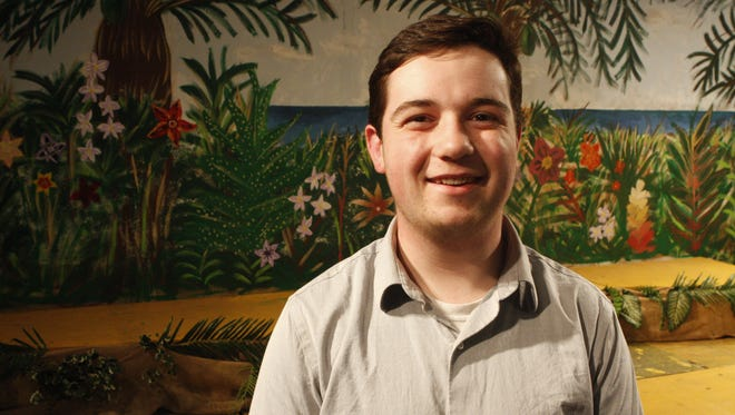 """Brian Hayes plays Daniel in Pearl River High School's production of """"Once on This Island,"""" with performances at  3:30 p.m., April 30; 7 p.m., May 1 and 2."""