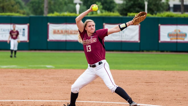 Lacey Waldrop earned the win against Boston College