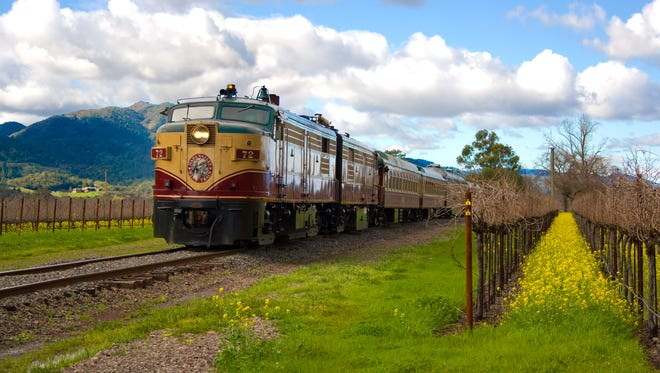 The Napa Valley Wine Train completed a program for the experimental conversion of an ALCO locomotive to 60% natural gas and 40% diesel fuel mixture. Starting in 2003, the locomotive went into service using 100% compressed natural gas.