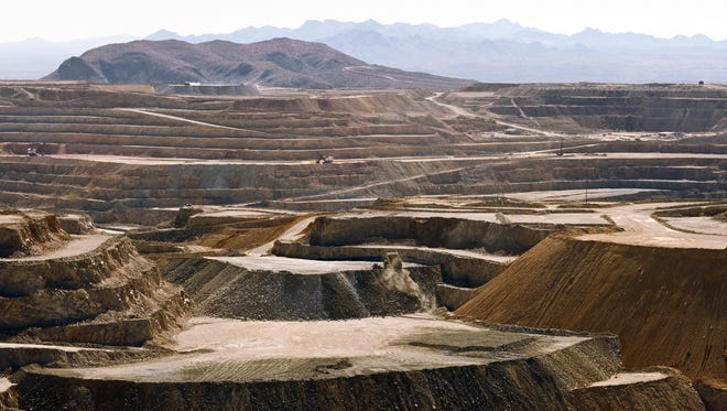 Freeport-McMoRan Inc. said Thursday it will cut almost 600 jobs at the Sierrita mine south of Tucson by January.