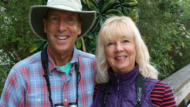 "Don and Lillian Stokes will present ""Better Birding"" on Feb. 12."